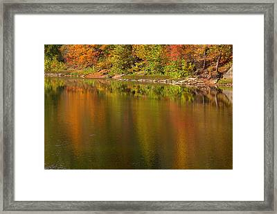 Water Dancers Framed Print by Ed Smith