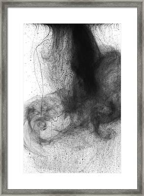 Water Dust Framed Print by Sumit Mehndiratta