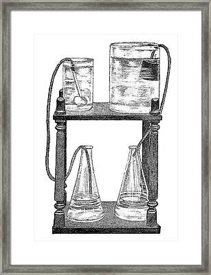 Water Filters, 19th Century Framed Print by
