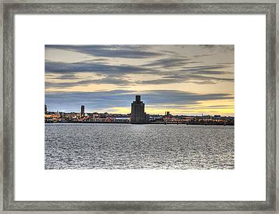 Water Front Liverpool Framed Print by Barry R Jones Jr