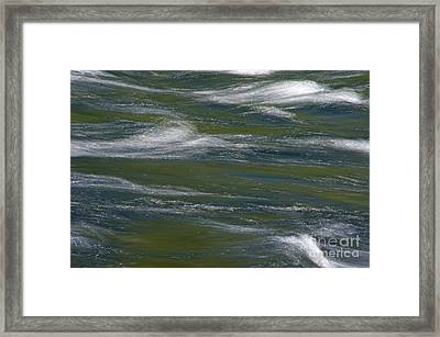 Water Impression 2 Framed Print by Catherine Lau