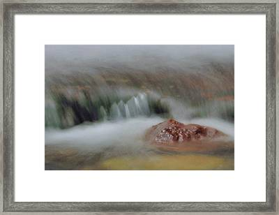 Water Movement Detail 8 Framed Print by Stephen  Vecchiotti