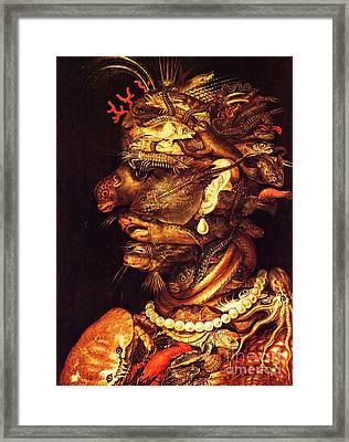 Water Framed Print by Pg Reproductions