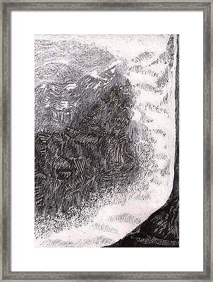 Bash Bish Falls Framed Print by Al Goldfarb