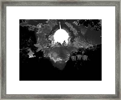 Water Skys Framed Print by HollyWood Creation By linda zanini
