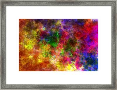 Water Space Framed Print by Lance  Kelly