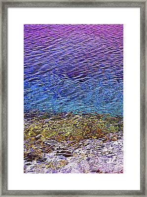 Water Surface  Framed Print by Elena Elisseeva