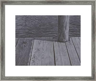 Water1 Framed Print by Jeffrey Babine