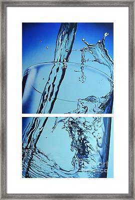 Water2heal Framed Print by Rob Courtenay
