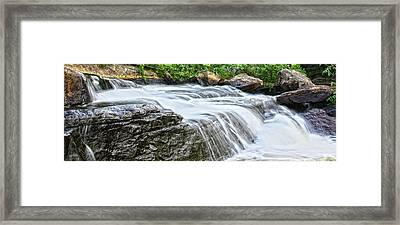 Waterfall Framed Print by Photography Art
