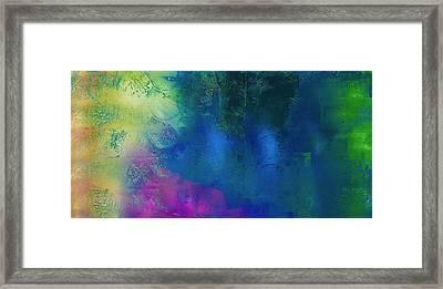 Waterfall Rain Framed Print by Samar Asamoah
