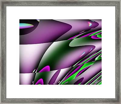 Waves  Framed Print by Mark Moore