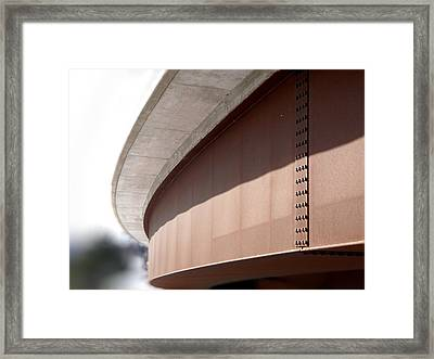 We All Bend Framed Print by Jonathan Lagace