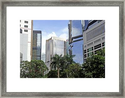 Hong Kong Framed Print featuring the photograph We Are Here To Stay by Roberto Alamino