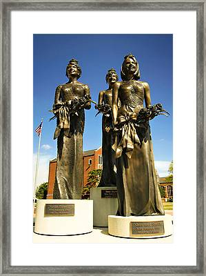We Three Queens Framed Print by Ricky Barnard