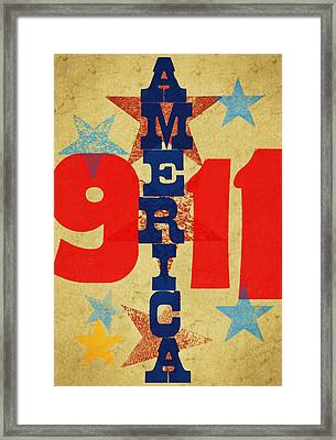 We Will Never Forget Framed Print by Russell Pierce
