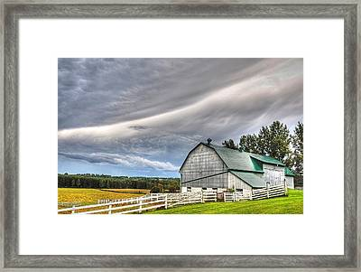 Weather It Out Framed Print by Bruce Kenny