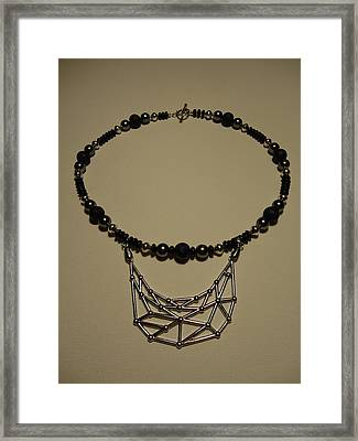 Web Of Creation Framed Print by Jenna Green