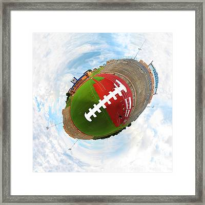 Wee Football Framed Print by Nikki Marie Smith
