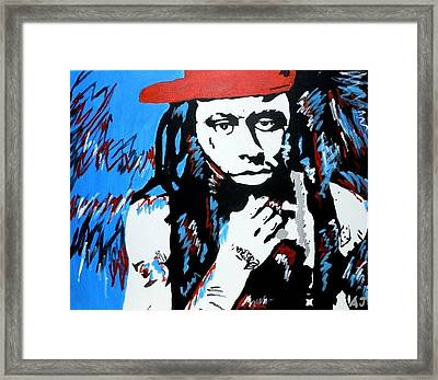 Weezy F. Baby Framed Print by Austin James