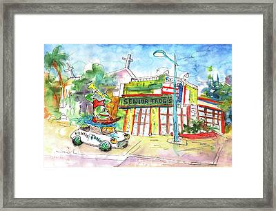 Welcome To Cyprus 05 Framed Print by Miki De Goodaboom