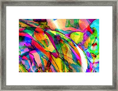Welcome To My World Dissection 1 Framed Print by Angelina Vick