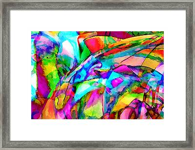 Welcome To My World Dissection 2 Framed Print by Angelina Vick
