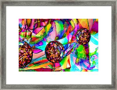 Welcome To My World Dissection 3 Framed Print by Angelina Vick