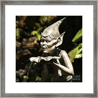 Well Gremlin Framed Print by Heiko Koehrer-Wagner