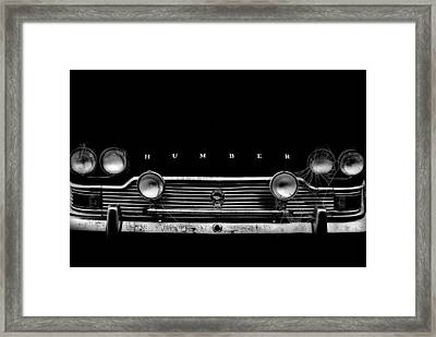 Wesley Snipe Framed Print by John Chivers