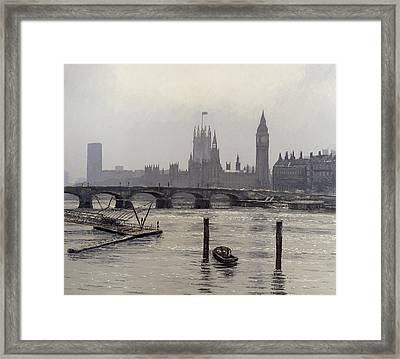 Westminster Framed Print by Tom Young