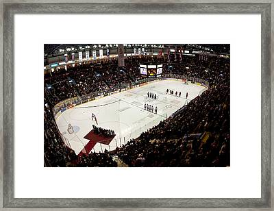 Wfcu Centre Framed Print by Cale Best