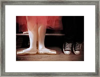 What A Pair Framed Print by Jeanne Sheridan