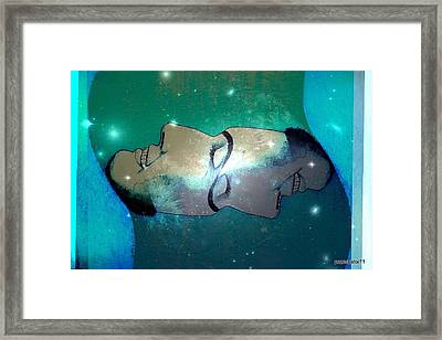 What Is Above Is Like What Is Underneath Framed Print by Paulo Zerbato