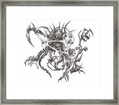 What Is On The Inside Part Three Framed Print by Anthony McCracken