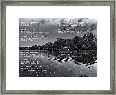 What Is This Place Framed Print by Joshua House