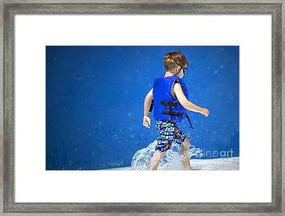 What Life Is All About Framed Print by Gwyn Newcombe