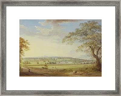 Whatman Turkey Mill In Kent Framed Print by Paul Sandby
