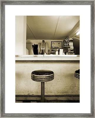 Whats For Lunch Framed Print by Jan W Faul