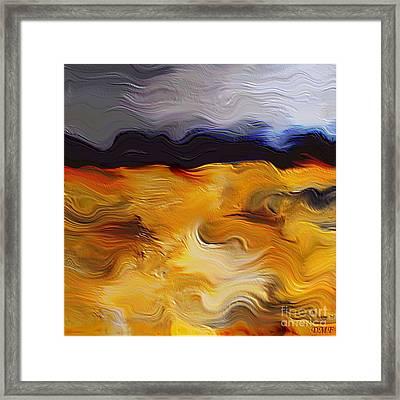 Wheat Field Framed Print by Dragica  Micki Fortuna