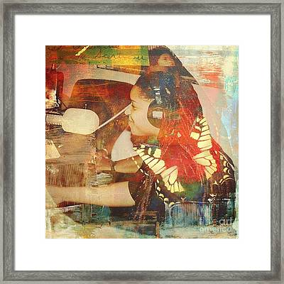 When All Is Said And Done Framed Print by Fania Simon