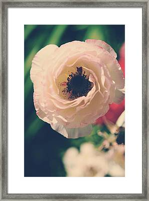 When Love Was Fresh And New Framed Print by Laurie Search