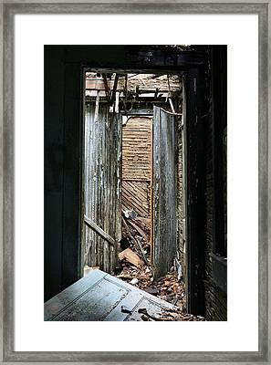 When One Door Closes Framed Print by JC Findley