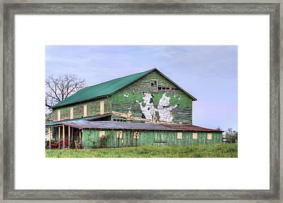 When The Farmer's Away Framed Print by JC Findley