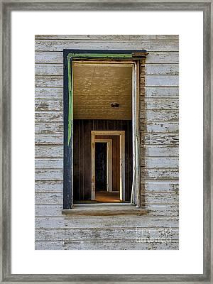 When Times Were Good Framed Print by Sandra Bronstein