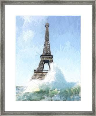 Where Is The Ark Framed Print by Stefan Kuhn