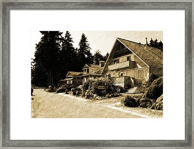Whidbey West Side Framed Print by Barry Jones