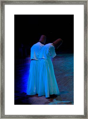 Whirling Dervish - 2 Framed Print by Okan YILMAZ