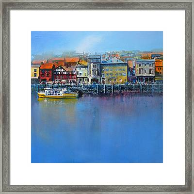 Whitby St Anne's Staith Framed Print by Neil McBride