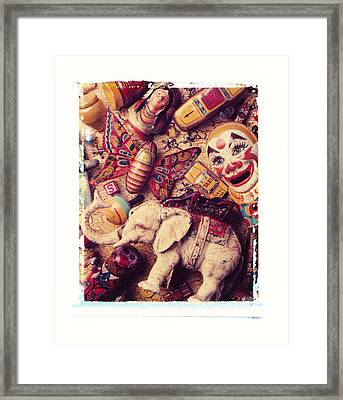 White Elephant Framed Print by Garry Gay